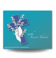 Lily of the Valley Acknowledgement Card