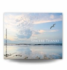 Seascape Acknowledgement Card
