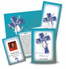 Lily of the Valley Collection Memorial Card Range