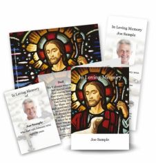 Our Lord Collection Memorial Card Range